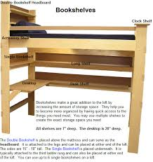 college loft bed plans free headboard for loft bed bunk beds college bed lofts
