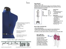 Select The Right Dressform
