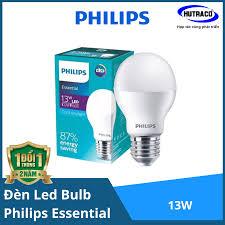 Bóng đèn Led Bulb Philips Essential ESS LED Bulb 13W E27 A60 - Chất lượng  sáng cao