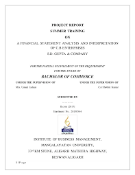 Financial Report Cover Page Annual Report Analysis Sample Annual Financial Report Template Word