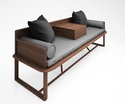 ocean bed pure solid wood sofa chinese ming heart series 3d model max obj mtl tga