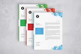 Graphic Designer Letterhead Examples Creative Letterhead Template