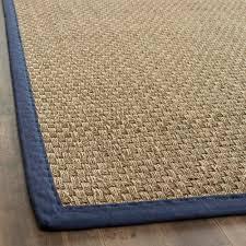 sisal rug with navy border rug designs sisal rug with navy border designs