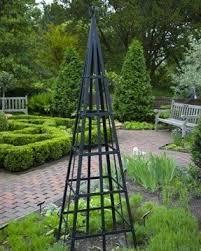 garden obelisk trellis. Metal Obelisk Trellis Garden R