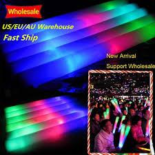 Led Christmas Light Sticks 100pcs Led Colorful Concert Party Club Cheer Sponge