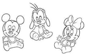 Small Picture Baby Minnie And Mickey Coloring Pages RedCabWorcester