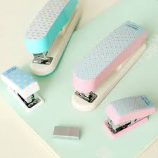 TUNACOCO Mini Stapler Plastic Portable Stitcher Sewer Office ...