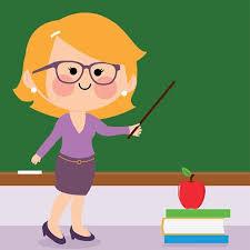 Female Teacher Teaching At Class Stock Vectors 365psd Com