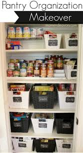 Details on a full pantry organization via momendeavors