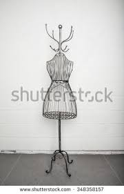 Wire Coat Rack Vintage Metal Coat Rack Metal Wire Stock Photo 100 Shutterstock 63