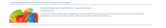 All Mod Cons Kaboodle Software