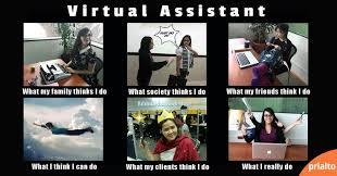 Funny meme about virtual assistants | Virtual Assitant | Pinterest ... via Relatably.com