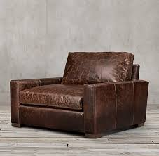 Maxwell Leather Chair-and-a-Half
