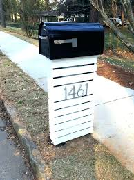 mailbox post ideas. Mailbox Post Ideas Contemporary Modern Picture Liberty Interior Mailboxes Diy .