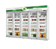 enjoyable glass door cooler commercial vertical beverage showcase display cooler sticker for
