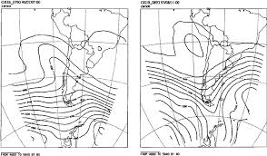 Synoptic Weather Charts 500 Hpa Showing Typical