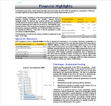financial report template word annual report template 40 free word pdf documents download