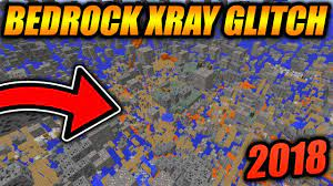 The minecraft pe/bedrock edition version, as seen below:. Best Working Xray Glitch For Minecraft Bedrock Edition Minecraft Bedrock Edition Xray Glitch 2018 Youtube