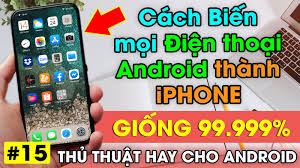 Launcher thay đổi giao diện Android thành iPhone giống 99.99% - TIENMOBILE