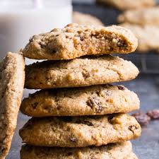 paleo oatmeal raisin cookies vegan