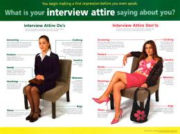 The Do S And Don Ts Of An Interview Interview Attire Dos And Donts Interview Attire