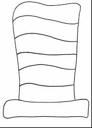 Small Picture Cat In The Hat Coloring Pages Pdf Coloring Pages