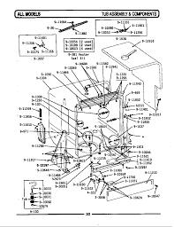 Wu482 dishwasher tub assembly ponents parts diagram