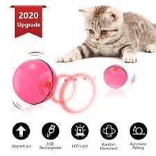 <b>USB Rechargeable</b> Pet Toy with <b>Spinning LED</b> Light,Wicked 360 ...