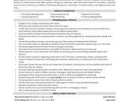Resume Real Estate Resume Formidable Real Estate Manager Resume