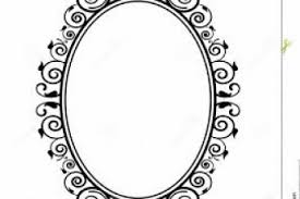 mirror frame outline. Frame Outline Yellow Framed Tattoo Thin Square Flower With Red Logo Star Mirror A