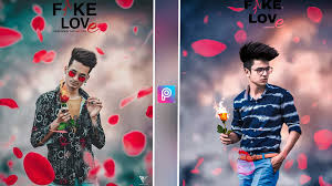 Fake love photo editing background and ...