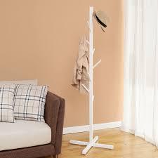 Coat Rack Chair Coat Racks stunning white wooden coat rack White Coat Rack With 81