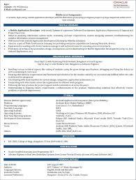 Java Developer Resume Template Stagingusasport Info