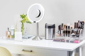 There's something uniquely personal about a vanity space  it's the female  equivalent of a man cave. Crowded with makeup brushes, hair tools and skin  care ...