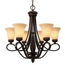 golden lighting chandelier. Golden Lighting 8106-6 CDB Torbellino 6 Light Chandelier N