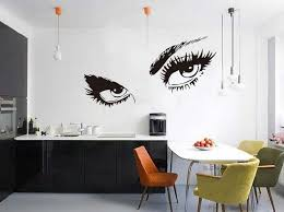 living room wall decal home decor hepburn s eyes living room wall art
