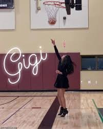 Footage shows Gianna Bryant practicing her basketball skills ...