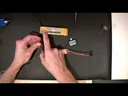 rc motor and esc wiring part 1