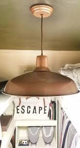 diy copper light fixture diy light fixture update light fixture with spray paint