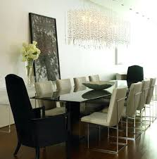 dining room table chandelier modern dining room chandelier ideas average height of chandelier above dining room