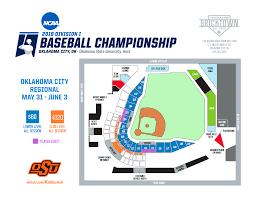 2019 Ncaa Baseball Championship Oklahoma City Regional
