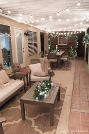 patio wall lighting ideas. go plugfree and beautiful this holiday season with pier1importu0027s led outdoor christmas patio wall lighting ideas