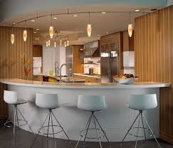 Kitchen   Modern And Functional Kitchen Bar Designs Small Home - Modern basement bars