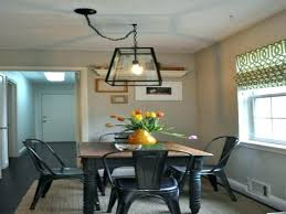 medium size of home improvement off center chandelier dining room light image over table centerpieces for