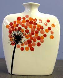 children s fingerprints are flower petals simple but elegant pottery painting ideaspottery