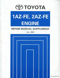 Toyota 2az At Repair Manual