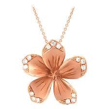 llk designer diamond plumeria flower