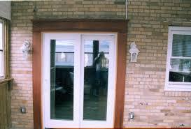 astonishing sliding glass door trim how to trim a sliding glass door saudireiki