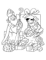Sinterklaas En Zwarte Piet Kleurplaten Krijg Duizenden
