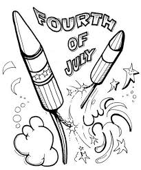Small Picture Celebration Fireworks on Independence Day Coloring Page Download